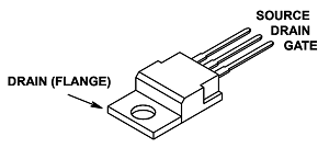 IRF9540,P channel power MOSFET