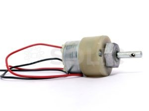 100 RPM DC Geared Motor- Centre Shaft-HIGH QUALITY