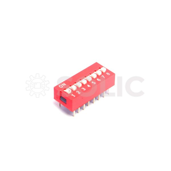 8 Position DIP switch