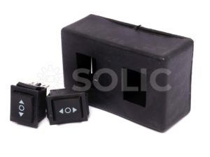 DPDT Rocker Switch with box